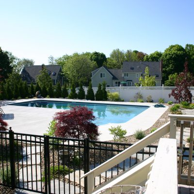 Pool Patio and Landscaping